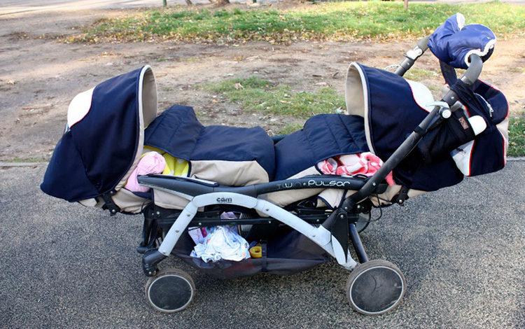 коляска для двойняшки