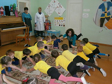 профилактика нарушений осанки у детей