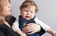 ребенок во время истерики