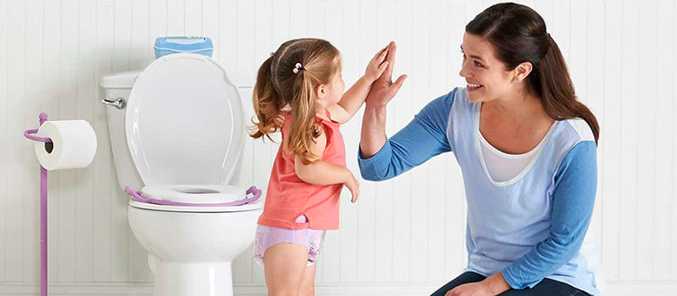 учим ребенка ходить в туалет