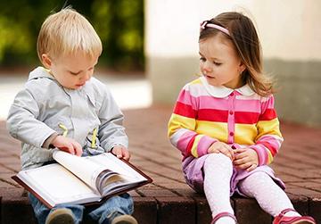 дети за чтением