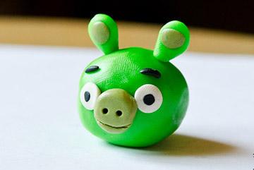 зеленый свин