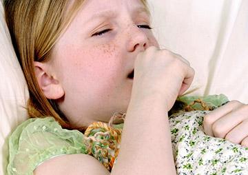 сухой кашель