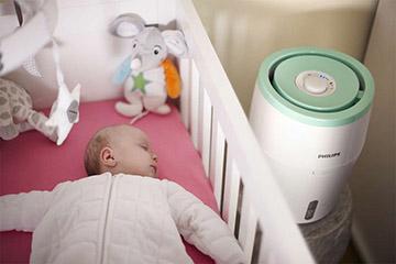 влажность в помещении где находится ребенок