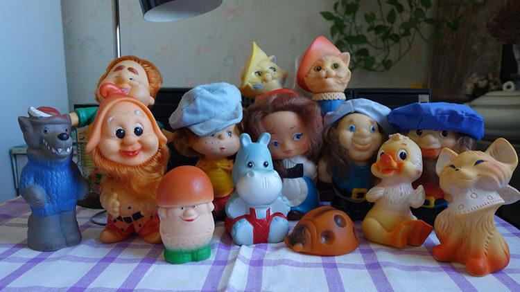 игрушки из резины