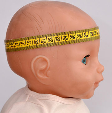 окружность головы малыша