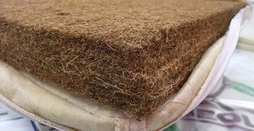 матрас на основе кокосового волокна