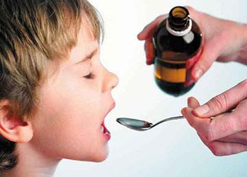лекарство в виде сиропа