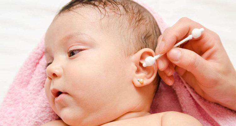 уши ребенка - гигиена